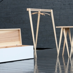 Collection EQUUS is a minimalist furniture collection designed by Latvia-based designer Armands Grūbe.