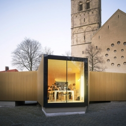 Golden Workshop is located in Münster, Germany, designed by modulorbeat.