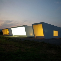 Minami-Nagano Dental Clinic & Residence is located in Tokyo, Japan, and designed by Hiroki Tanabe.