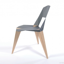 Pythagoras Chair is designed by Sander Mulder, a Netherland-based designer.