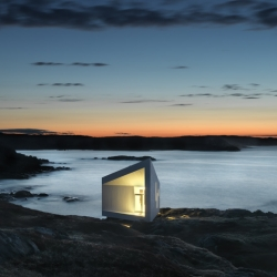 Squish Studio is located in Fogo Island, Canada, and designed by Saunders Architecture.