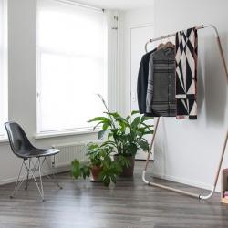 Woodstock, a minimalist design, lightweight, mobile furniture collection, created by The Netherlands-based designer Jeroen van Leur.