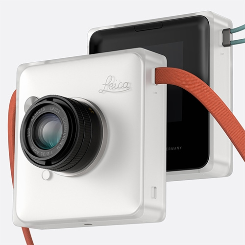 Leica Instant M by Daniel Huang - concept and working prototype for an instant camera that mounts Leica M lenses