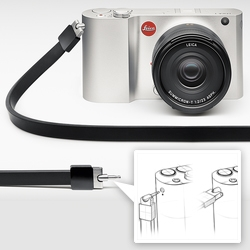 Leica T System has some fascinating details - especially how the Easy-Click straps and accessories lock into the milled aluminum body. They also have built in WiFi and an App, as well as 16GB built in.