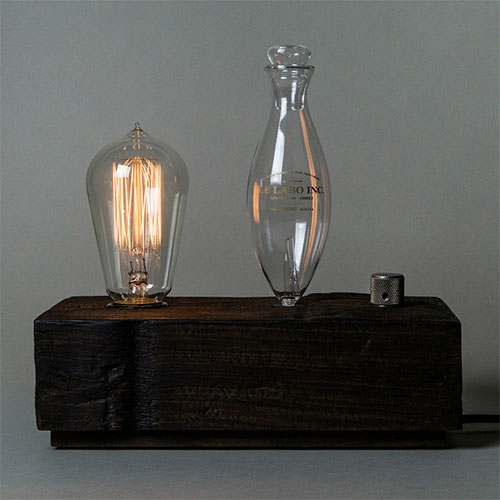Le Labo SANTAL 26 home diffuser - Forged from the reclaimed wood of New York's water tanks.
