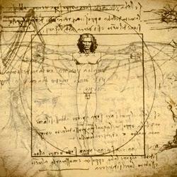 Animated illustrations from Leonardo Da Vinci's notebooks. LDV was my childhood hero.