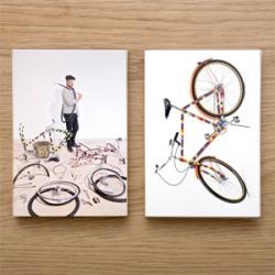 Les Bikes de Bois Rond have a postcard box set to commemorate Gavin Turk's 2010 Frieze project.