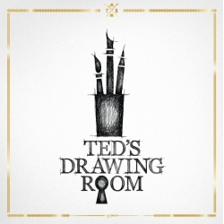Ted's Drawing Room from Ted Baker - fashion portrait service that makes you a masterpiece. 11 illustrators in a London studio draw looks submitted via instagram from stores. Subjects receive the original portrait. Mar 17, UK & NYC.