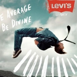 Acclaimed photographer Ryan McGinley helmed a new Levi's ad  campaign, 'Go Forth'