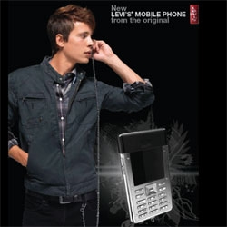 Levi's breaks into the cell phone market..