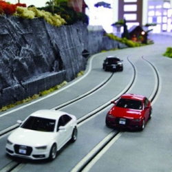 Discover Audi Quattro experience in Slot racing by Audi Canada.