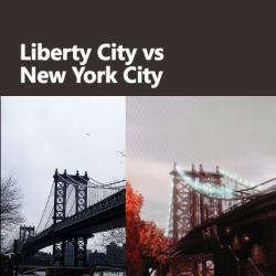 Sightseeing in Liberty City. 