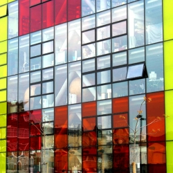 Peckham Library by Alsop Architects is architectural eye candy.