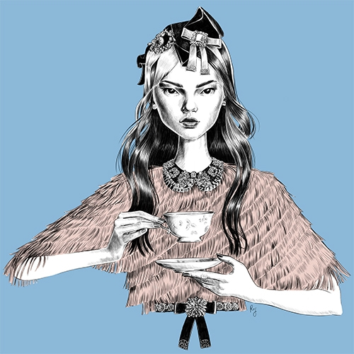 Beautiful illustrations of Rosalba Cafforio