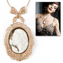 """""""Kinky Cameo Collection"""" ~ Haha... so strange had to share ~ """"In the Hellenistic era, women wore cameos to express desire and as a seductive invitation for love, some things never change."""""""