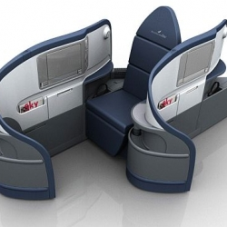 Sweet - LIE FLAT AIRPLANE SEATS!
