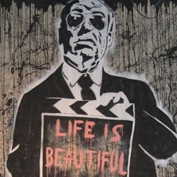 "Both Banksy and Shepard Fairey have paved the way for Mr. Brainwash to put together his first major Los Angeles showing, ""Life is Beautiful."" Mr. Brainwash, a.k.a. Thierry Guetta, one of the most prominent pop artists on the scene today."