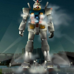 Life size Gundam being built in Japan to celebrate 30th anniversary of the Mobile franchise