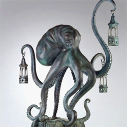 Scott Musgrove - Walktopus! It's part of the Juxtapoz Turns 18 show opening tonight at Copro Nason Gallery