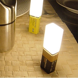 another simple, but fun lighting idea.  battery lights!