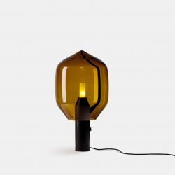 Lighthouse by Ronan & Erwan Bouroullec for Established & Sons. A contemporary lamp using the traditional know-how of Venini, Italy.