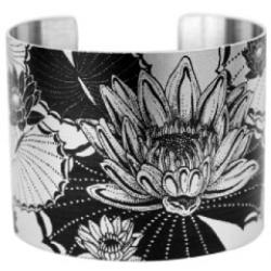 tatted silver cuffs