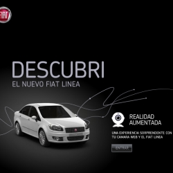 Another use for Augmented Reality... take a virtual test drive of the new Fiat!