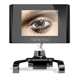 Blink Now ~ a mini monitor add on with a blinking eye ~ that makes you blink more!