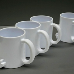 Jonathan Aspinall's Link Mugs are making breakfast a little more communal.
