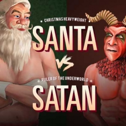 Santa vs Satan. Forget work. It's time to play! In the festive spirit of the silly season, a fun game that's a little naughty but largely nice. The ultimate yuletide rumble. Feeling naughty or nice this holiday season?