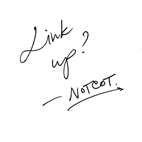 Let's connect on LinkedIn! As I work on what's next for NOTCOT, so curious to know more about YOU! Link up? Or drop me a message! Would love to hear what you're up to and what inspires you. ~ jean