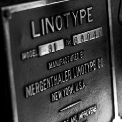 """Linotype: The Film"" is a documentary about Ottmar Mergenthaler's amazing Linotype typecasting machine and the people who own and love these machines today."