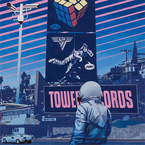 "Scott Listfield ""1984"" Show is opening this Saturday (1/6/18) at Thinkspace. Looks like a stunning take on Los Angeles in the 80s!"