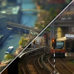 'Little Big Berlin' cool tilt shift style film by Pilpop.