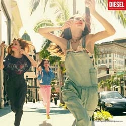 Live Fast is the concept of the last Diesel campaign, released in January 2008, made by Marcel, Paris.