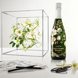 Perrier-Jouët Belle Époque Florale Edition - A collaboration with avant-garde floral artist Makoto Azuma. Beautiful!!!