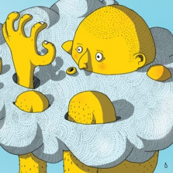 French  illustrator M PATATE created new print to his portfolio.