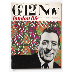London Life, forgotten magazine of Swinging London, featuring the illustrations of a young Ian Dury (yes, that Ian Dury)