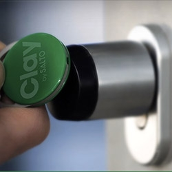 Clay: Meet your new lock and the no-key access solution! Clay is the wireless cloud-based access solution.