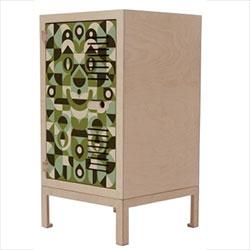Mingo Lamberti collaborated with RAW studios and illustrated on their ikonik lockers.