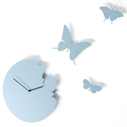 The Diamantini & Domeniconi Butterfly Clock brings a little bit of summer to your living space and seamlessly introduces the current trend for wall art to your home.