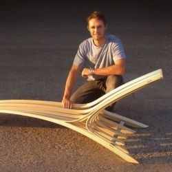 Australian designer Corey Baker has created the Lofoten Lounger.