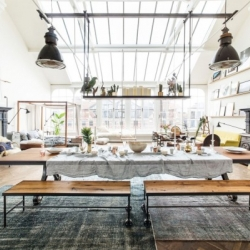 The Loft, pop-up store in Amsterdam dedicated to design and home furniture.