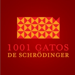 "Nice logo designed by ""Cidade dos Logos"" for a website called ""1001 Cats of Schrödinger"". The cool fact is that the symbol pattern really show hundreds of cats. If you don't get it at first, see more details."