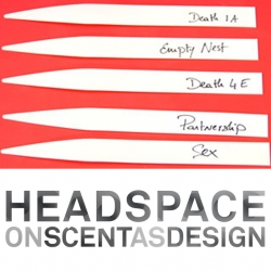 Headspace: On Scent as Design, a one-day symposium from Parsons, MoMA, IFF, Seed, and Coty on the conception, impact, and applications of scent with leading thinkers, designers, scientists, artists, perfumers. March 26th.