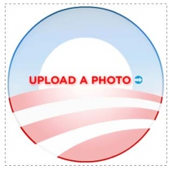 "Create your ""Logobama"" -  New initiative ""2.0"" for a US Presidential Candidate Barack Obama."