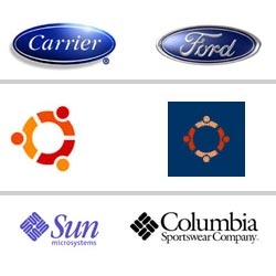 Logos brothers? | an interesting collection of very similar logos.