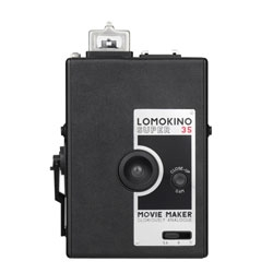 Lomokino, Lomography's very own 35mm movie camera.