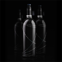 Lorem Wine bottles designed by Alex Mascoda.