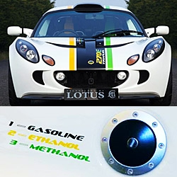 The fuel flexible  Lotus Exige 270E Tri-Fuel can use Gasoline, Ethanol or Methanol and now Lotus is developing the Omnivore, which as the name suggests, will be able to consume almost any type of fuel!